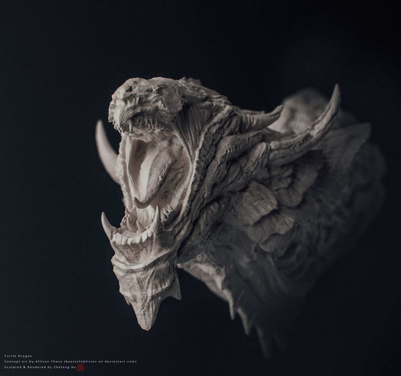 Zhelong xu turtledragon 3