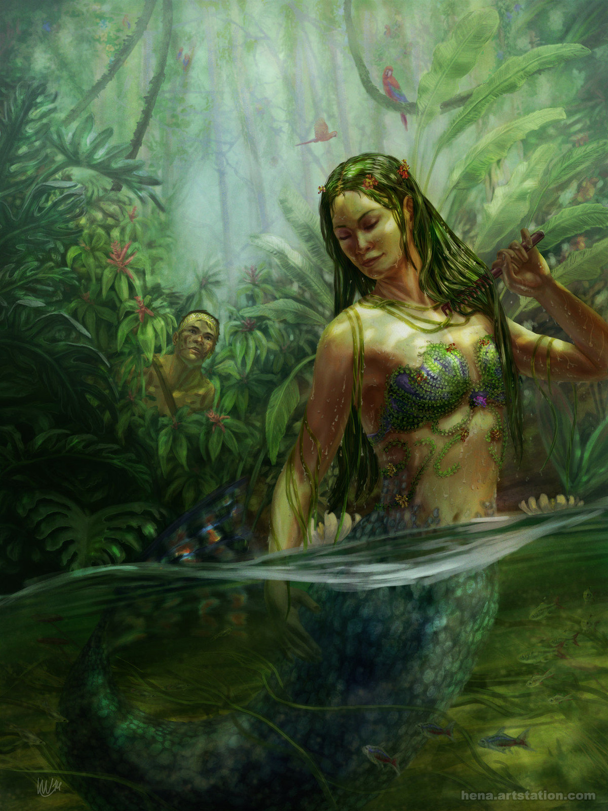 Iara, Lady of the Waters