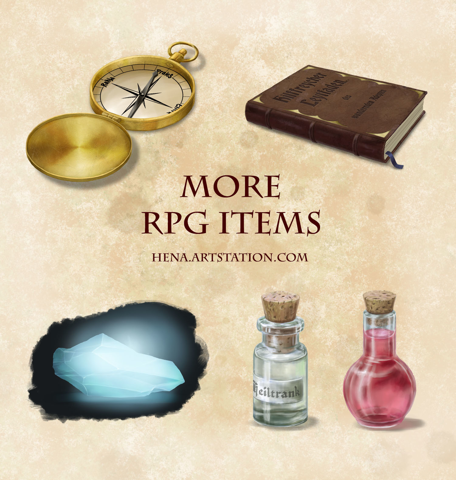 Karin wittig more rpg items as