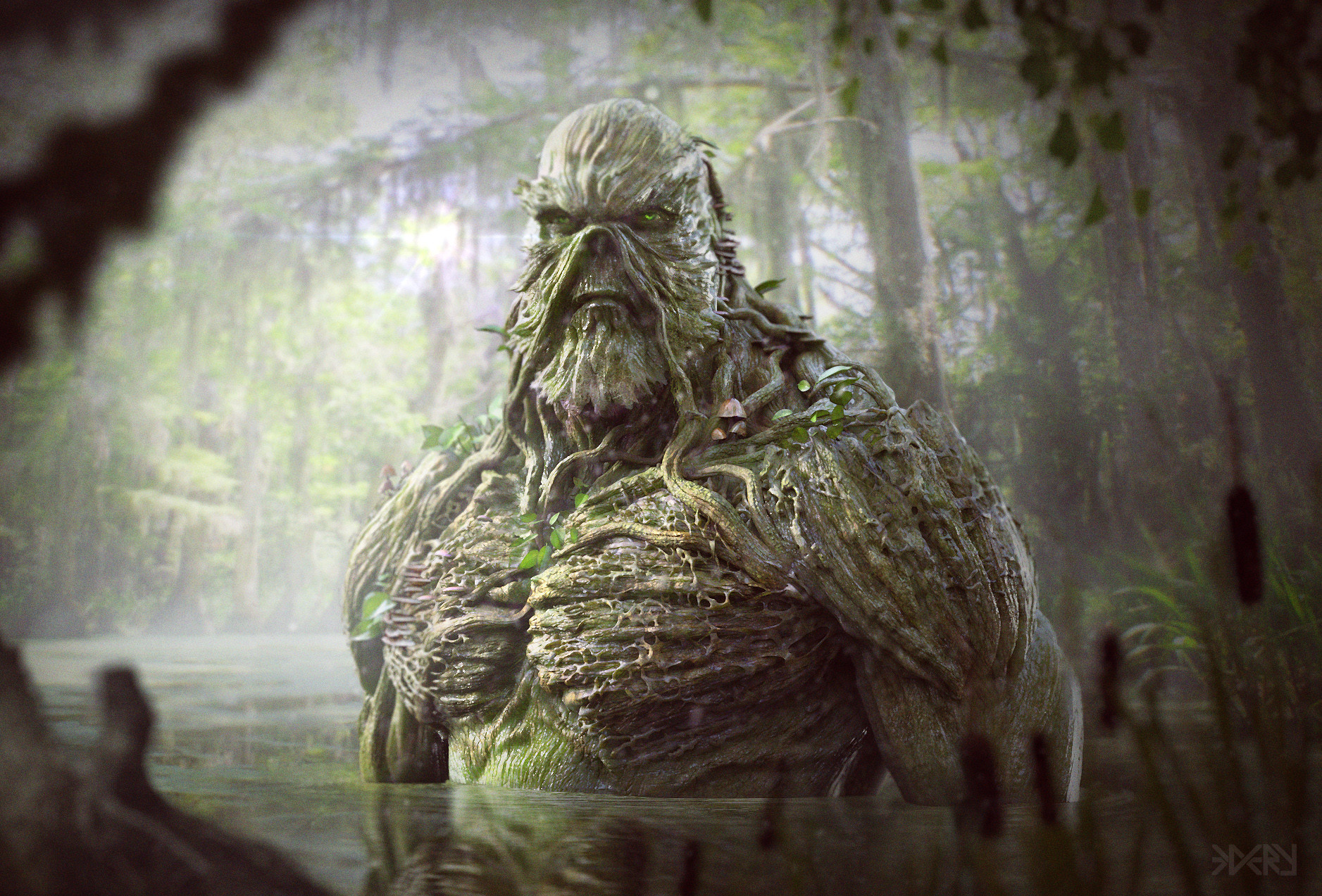 Daniel edery swamp thing 06