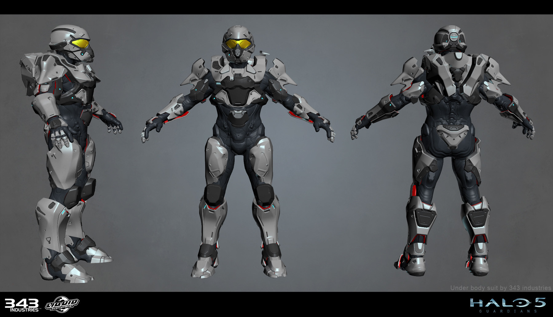 ArtStation - Halo 5 - Multiplayer Armor, Aaron Cruz