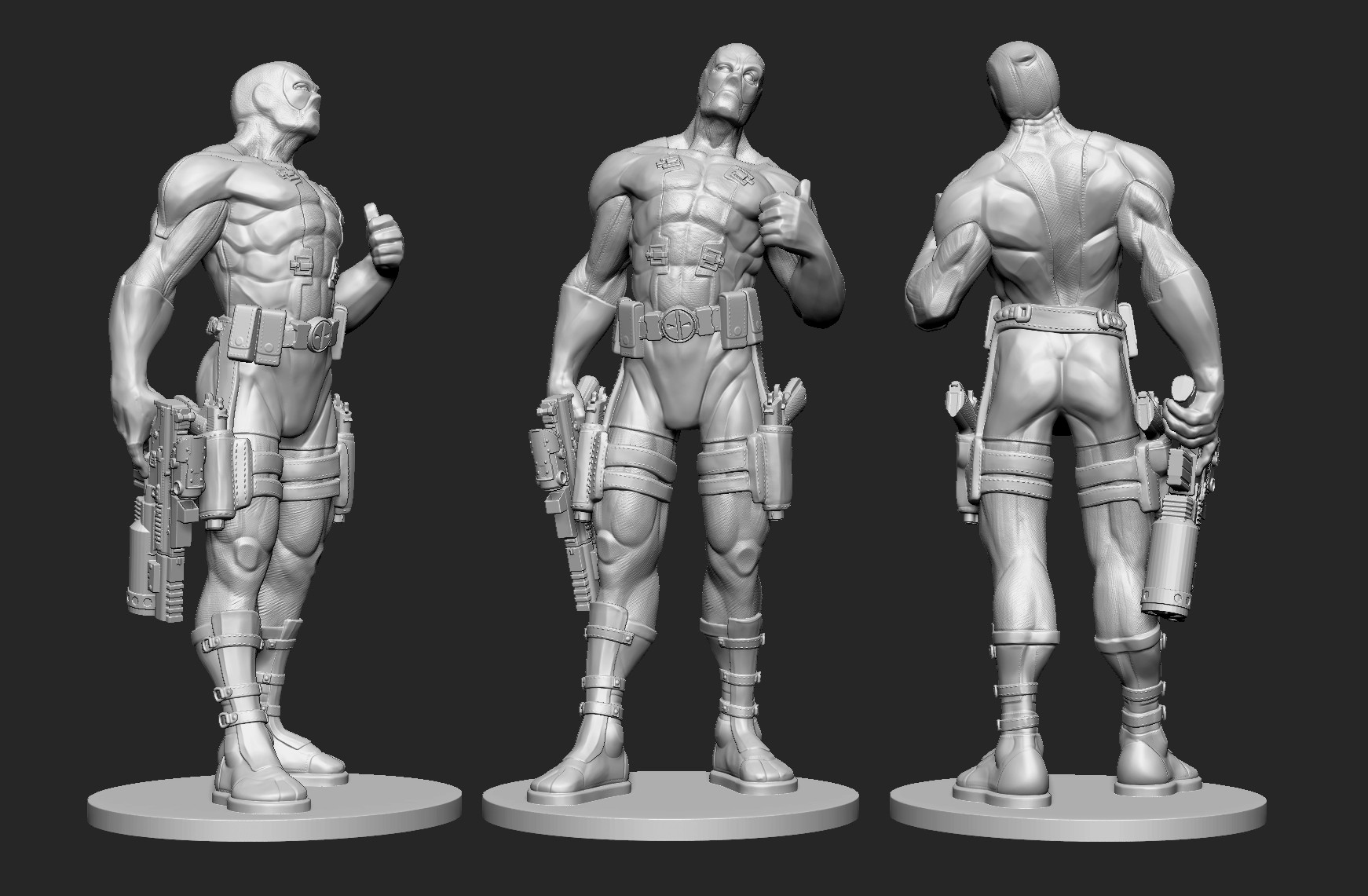 Nicholas hall deadpool working project file