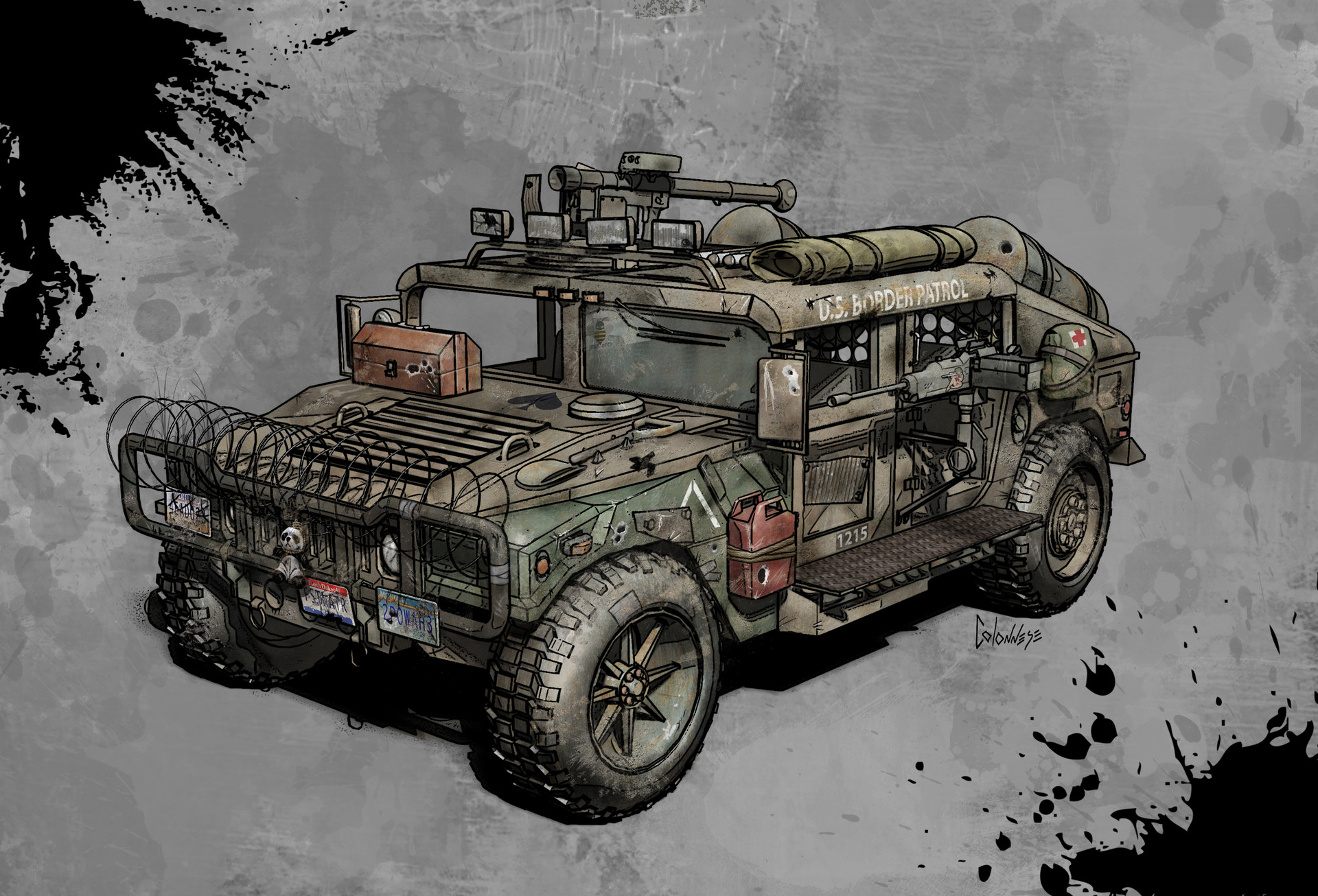 Mike colonnese humvee2