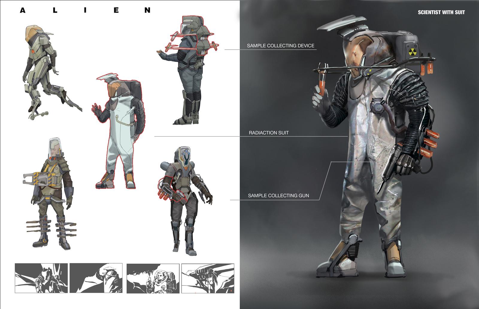 Shan qiao alien redesign shan qiao 010