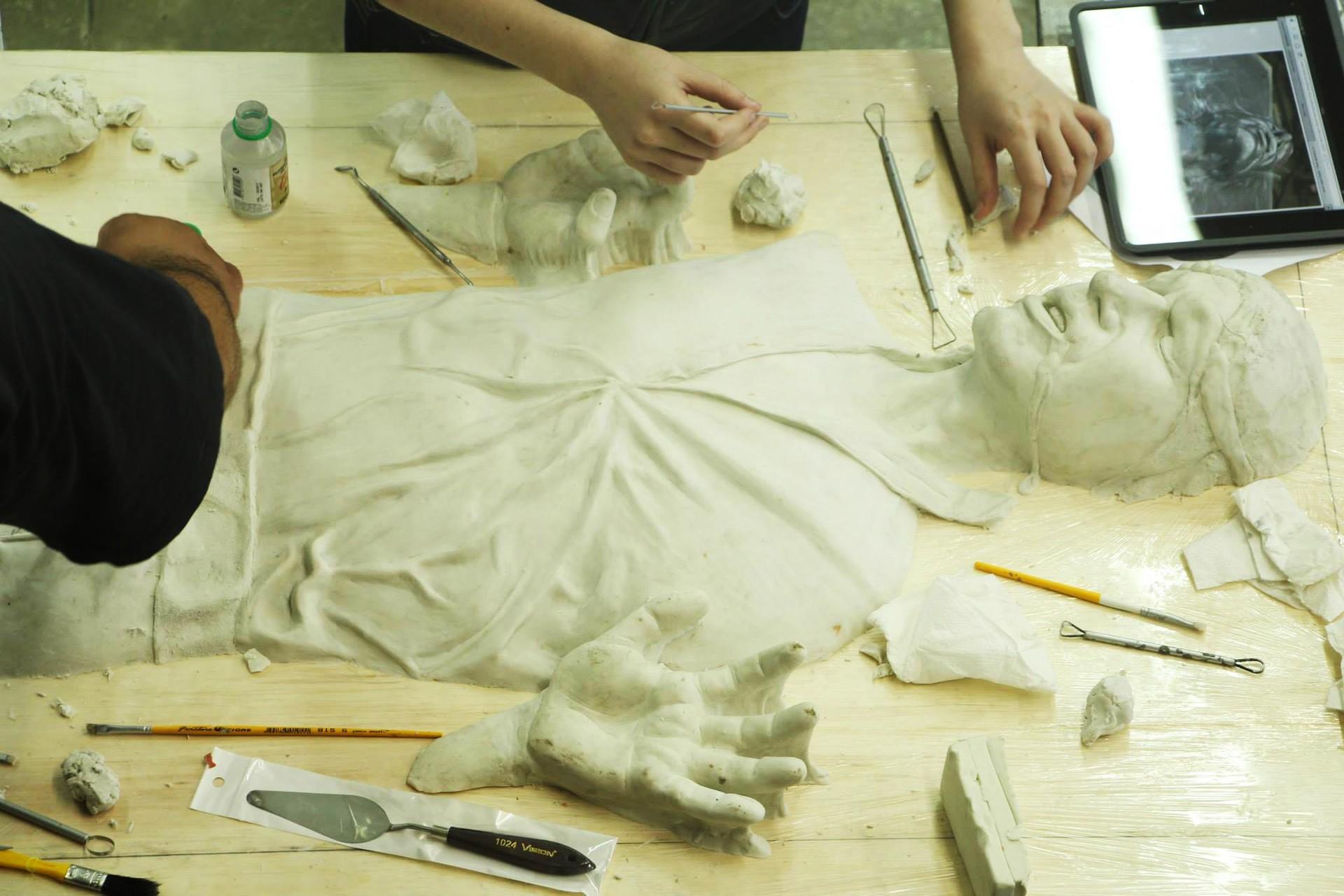 ArtStation Han Solor Carbonite Life Size Statue Wyvern s