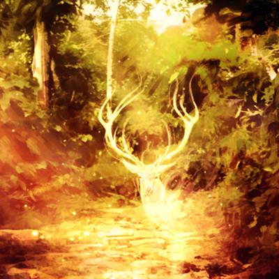 Christian benavides deer spirit of the forest