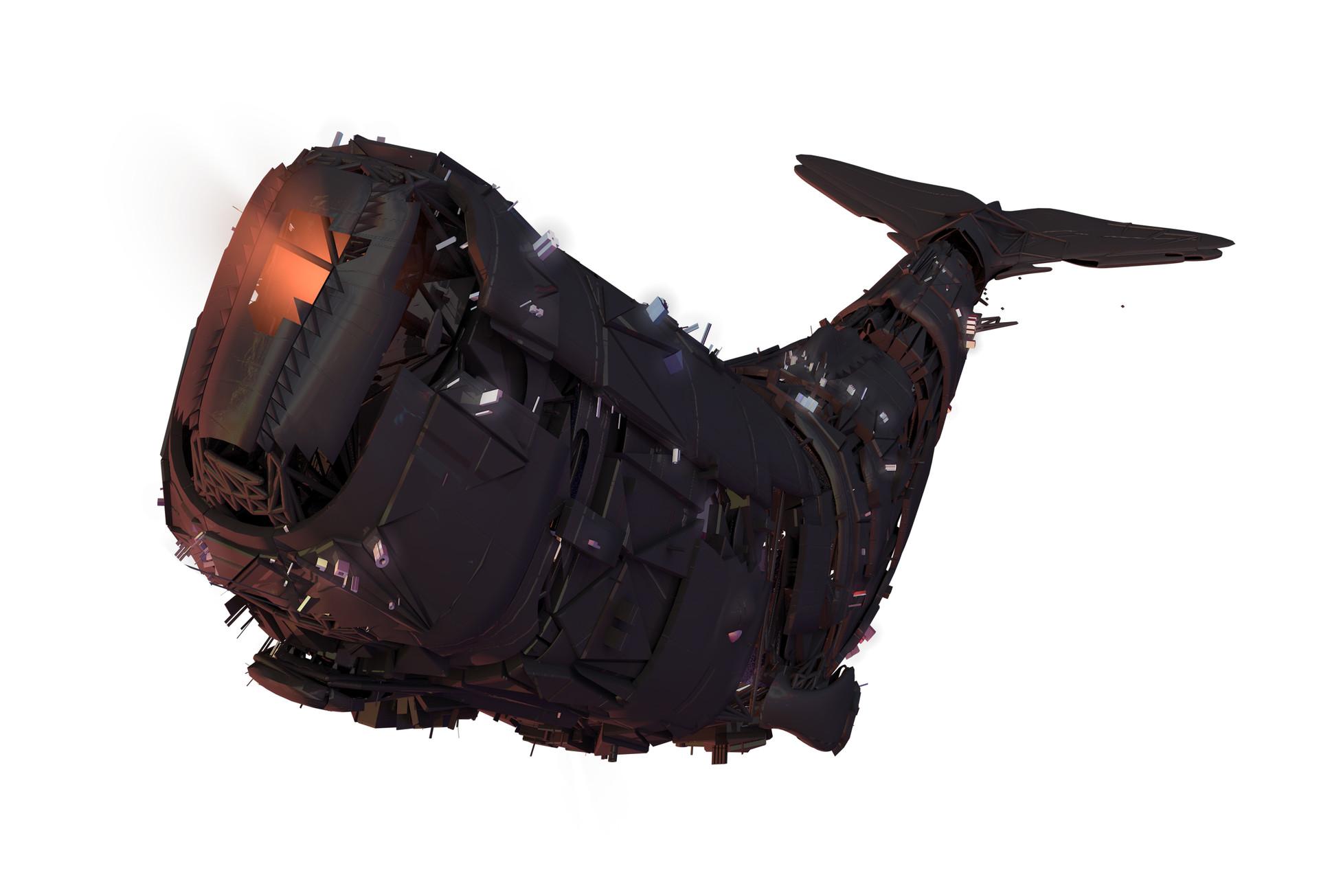 Leon tukker whalemeterorswhale model