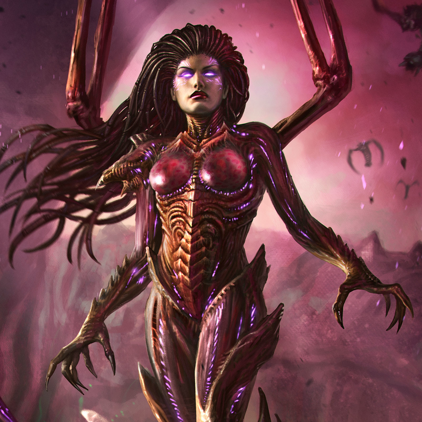 Rafael teruel kerrigan the queen of blades by rafater closeup