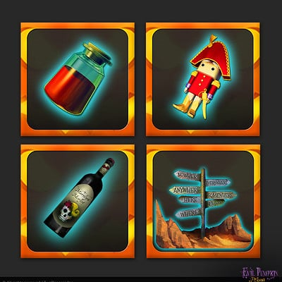 Milica todorovic evilpumpkin steam achievements icons