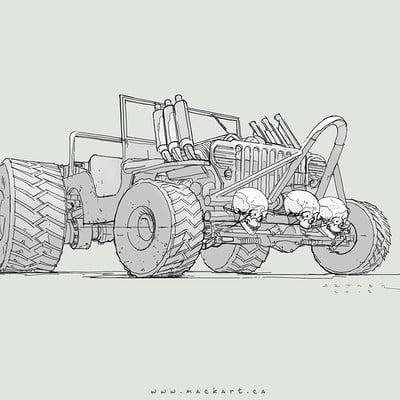 Mack sztaba jeep 4