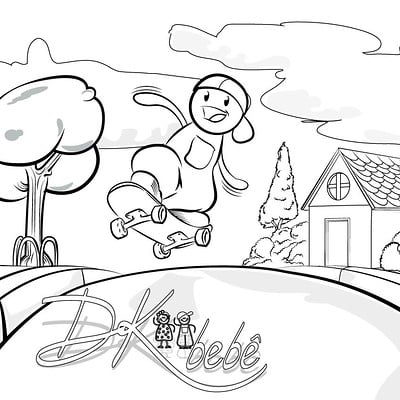 Altair araujo desenho para colorir dkbebe