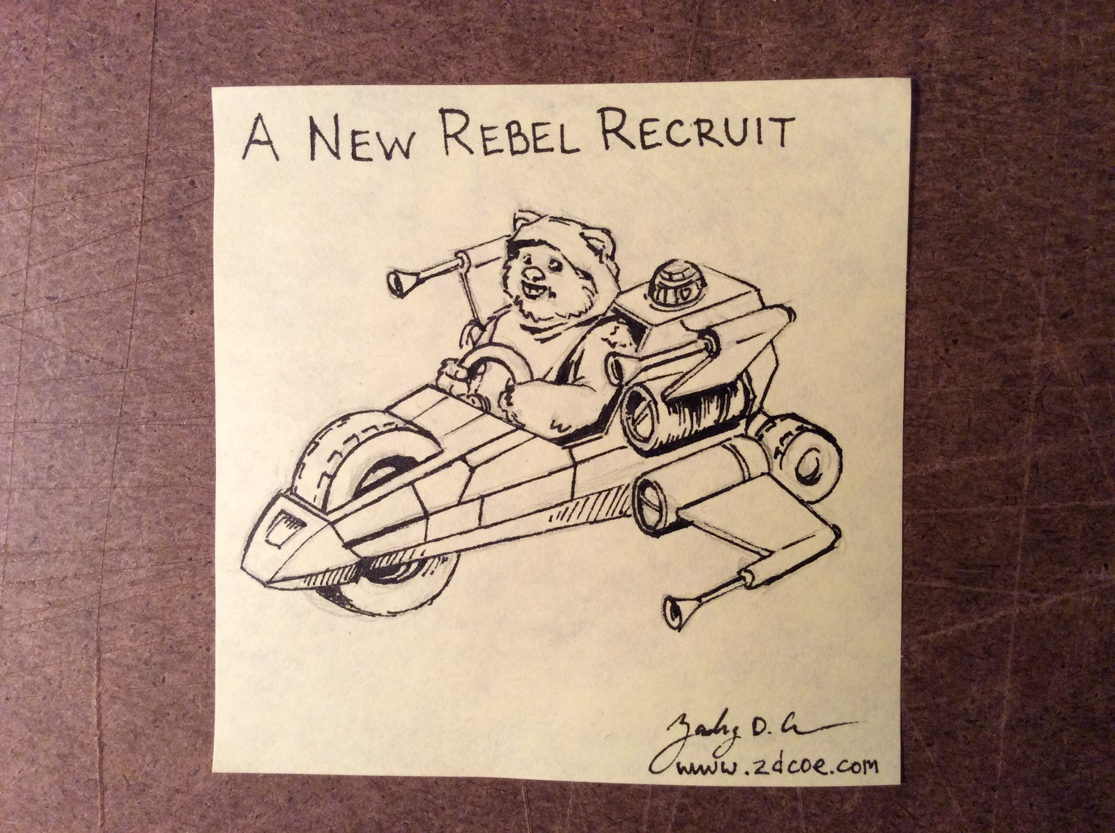 A NEW REBEL RECRUIT By Zachary D. Coe