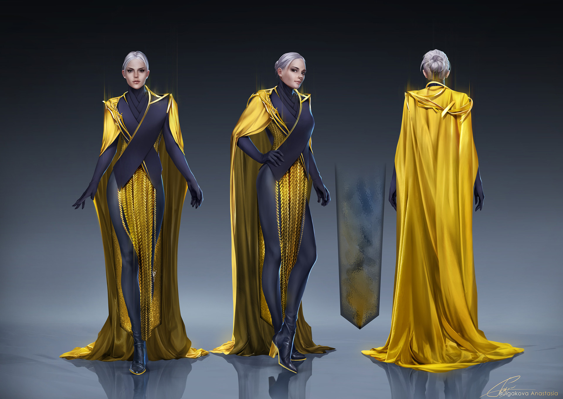 Character Design Jobs Australia : Artstation costume design anastasia bulgakova