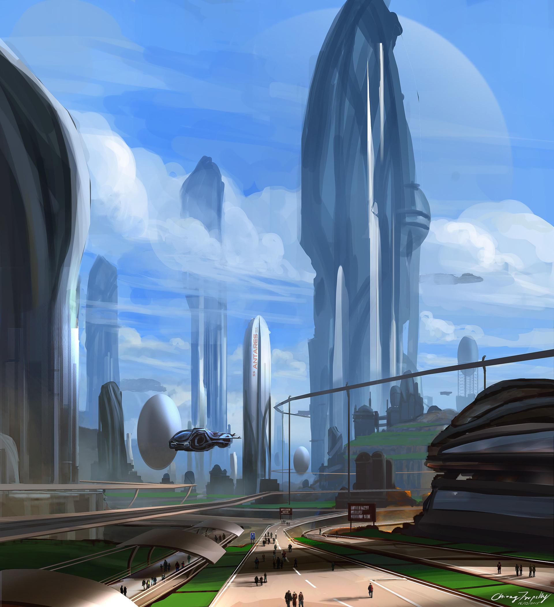 Chirag tripathy utopian city i chirag tripathy