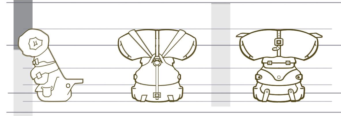 Angelo carvalho model sheep bag