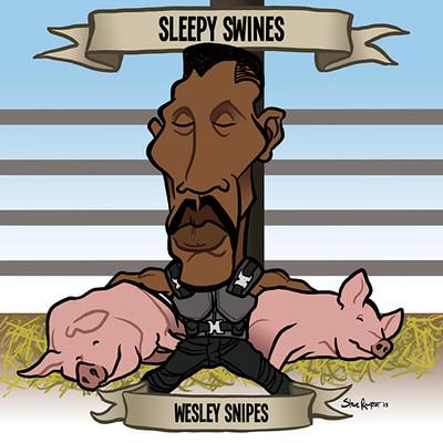 Steve rampton wesley snipes small
