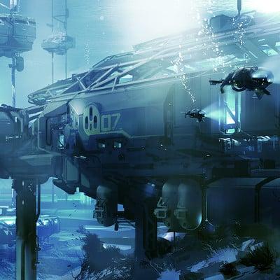 Sparth sparth unsc underwater station f