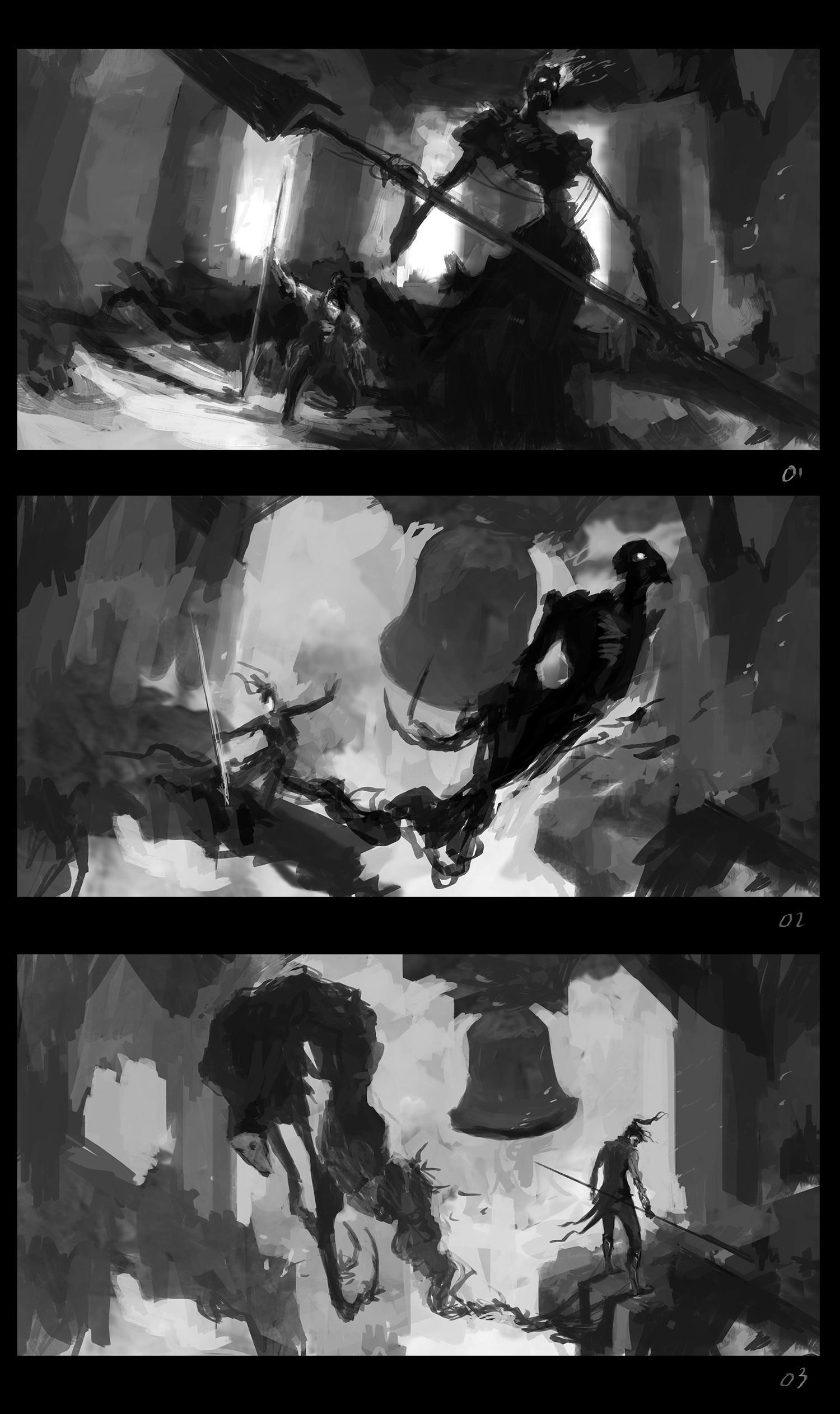 Alexandre chaudret dos herald sketches