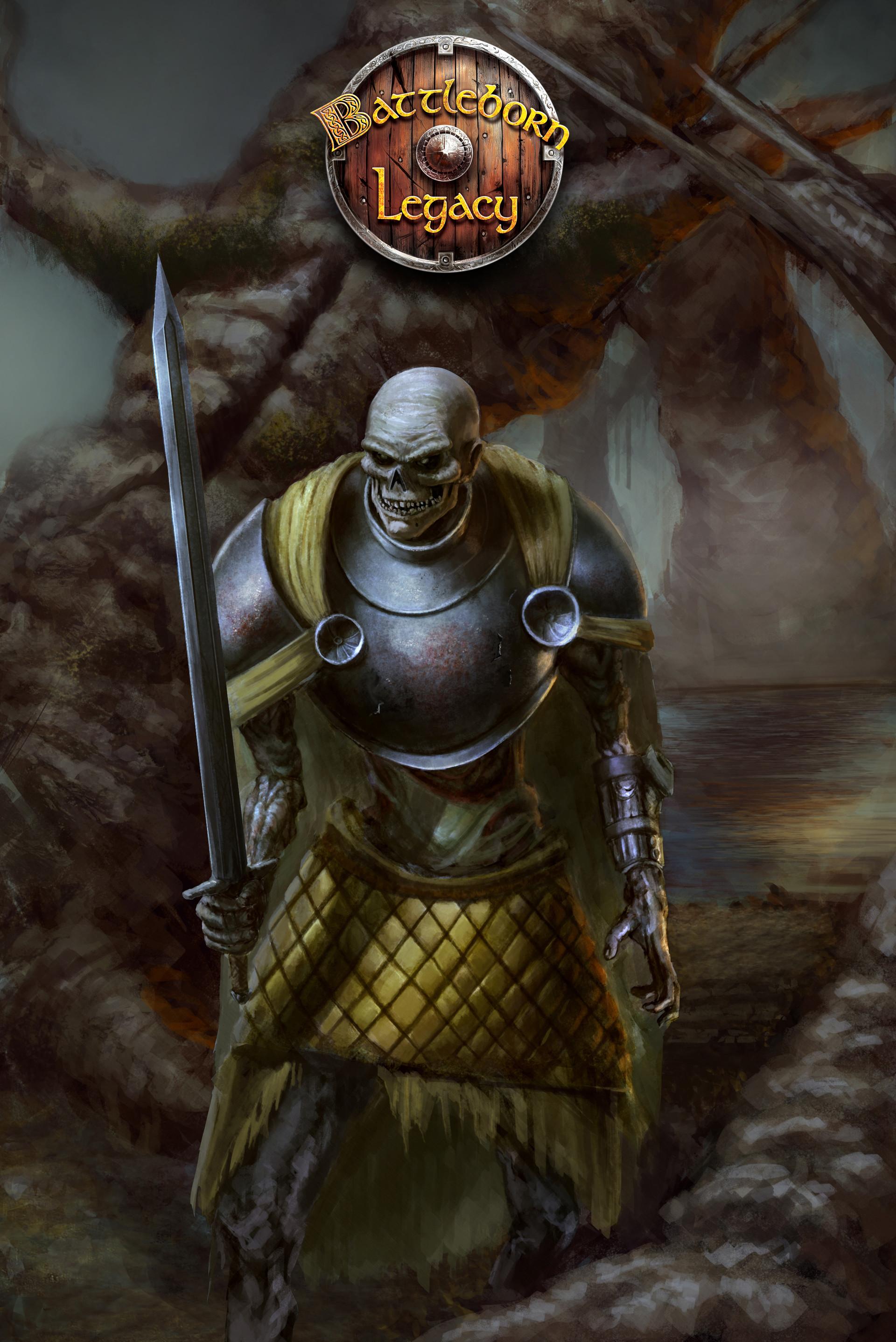 Konrad langa undead swordsman bb logo