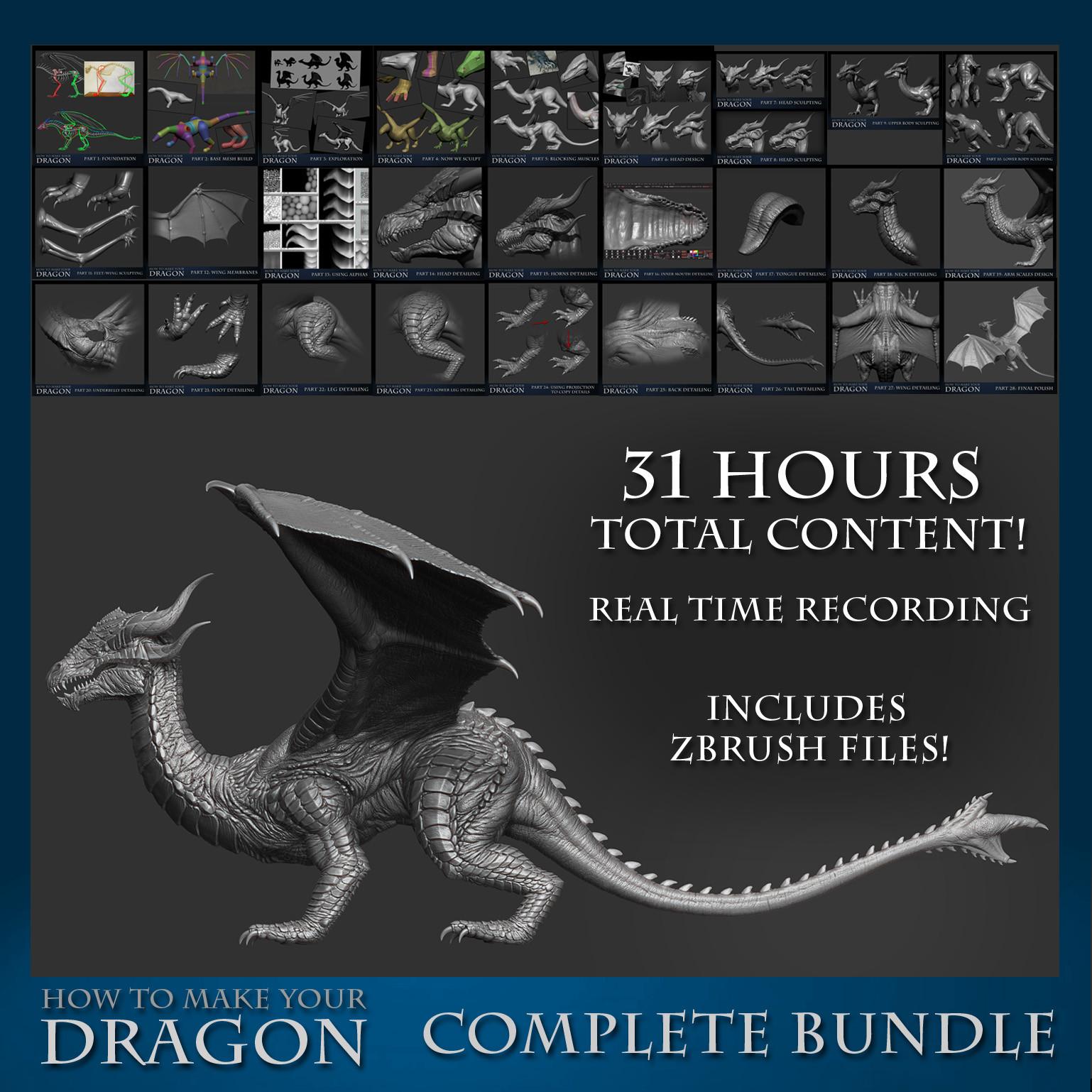 Jesse sandifer dragon gumroad completebundle