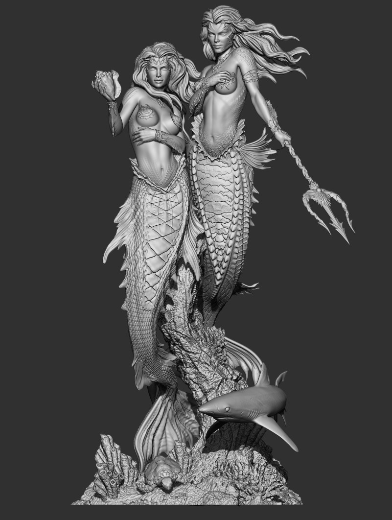Ehren bienert mermaids final