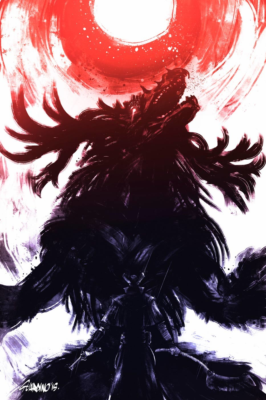 Bloodborne - Cleric Beast by Artsed on DeviantArt