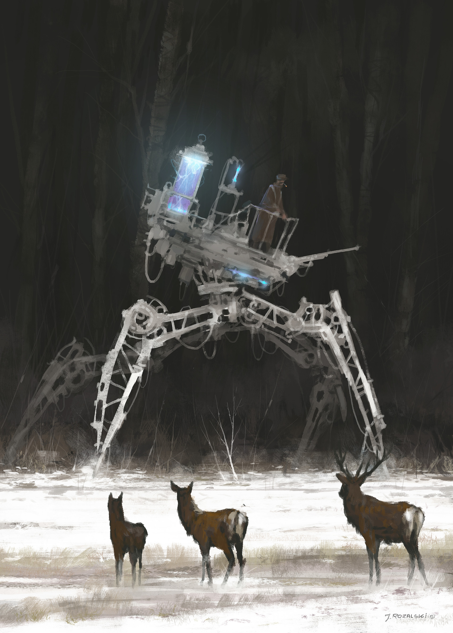 Jakub rozalski factory illustration 12 darkreacruit2s