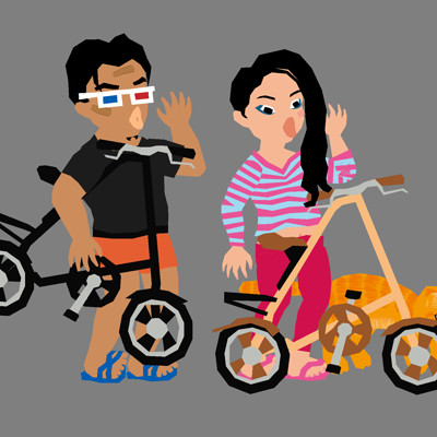 Ran zhao memao 20131225 bike