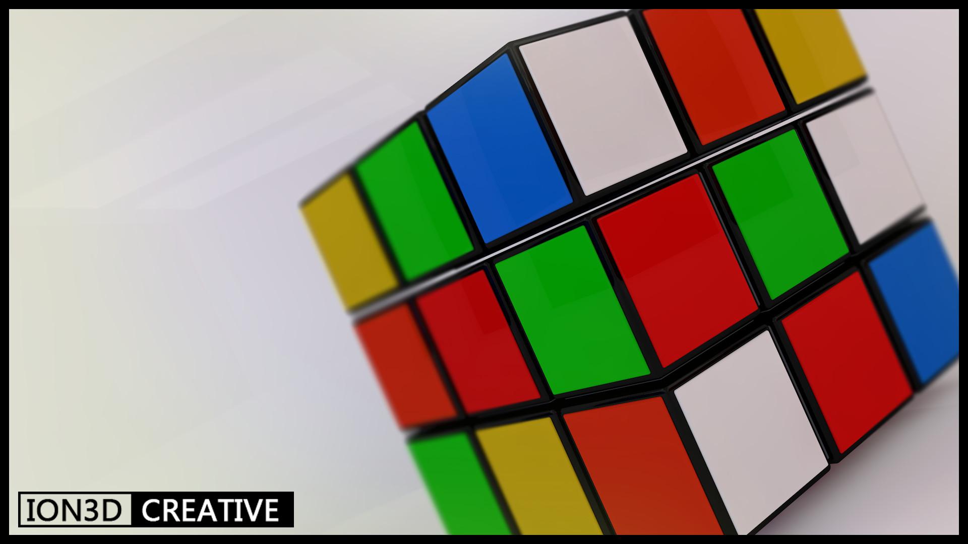 Ion 3d Rubiks Cube 3d Model