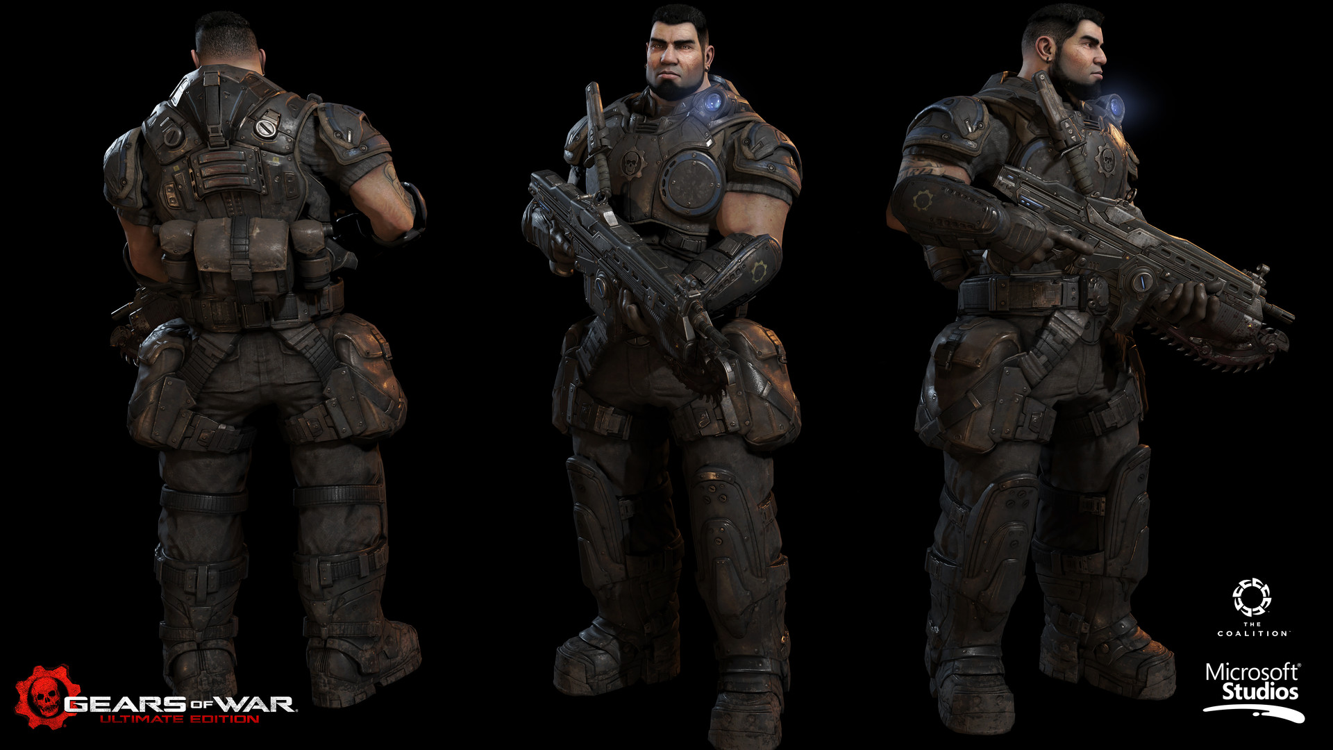 Artstation Gears Of War Ultimate Dominic Santiago Heber Alvarado