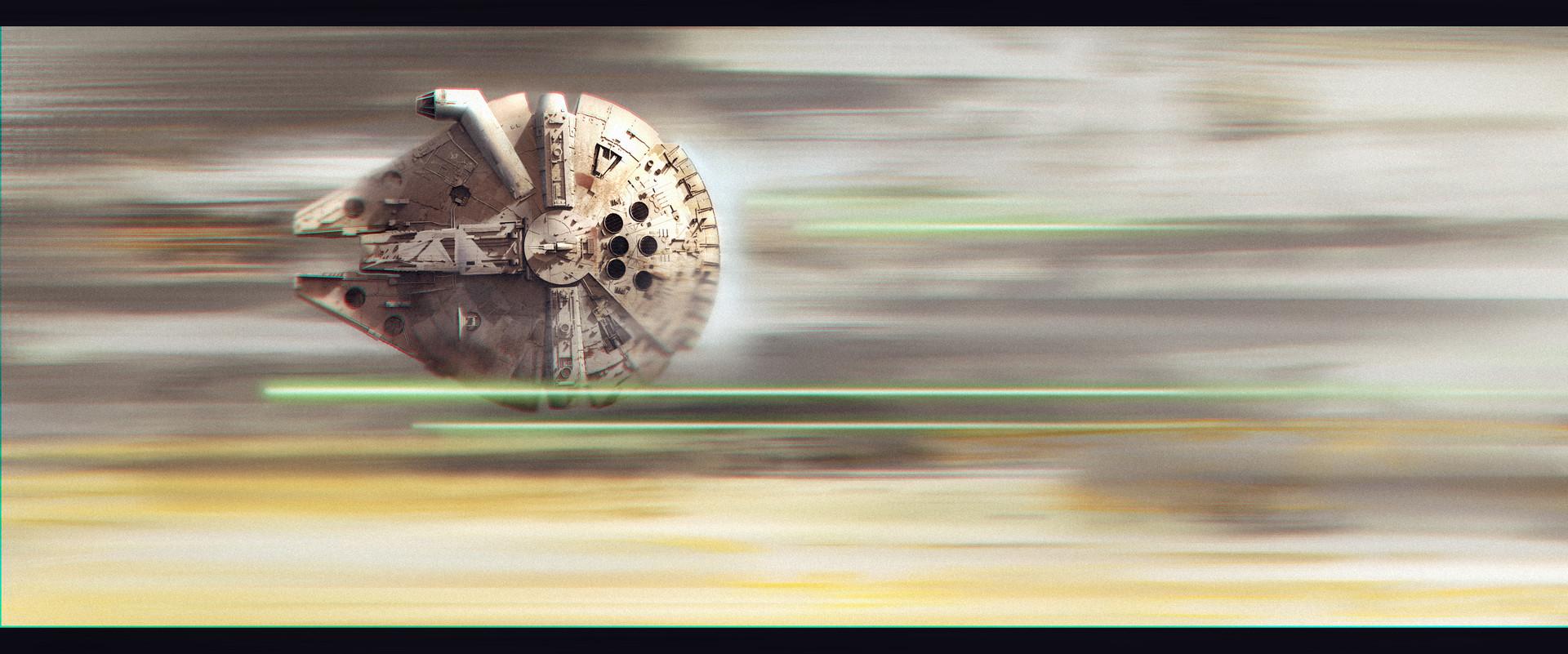 Artist >> Marcin Koszalski - Millennium Falcon