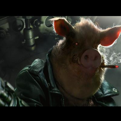 Brad rigney porkchop express