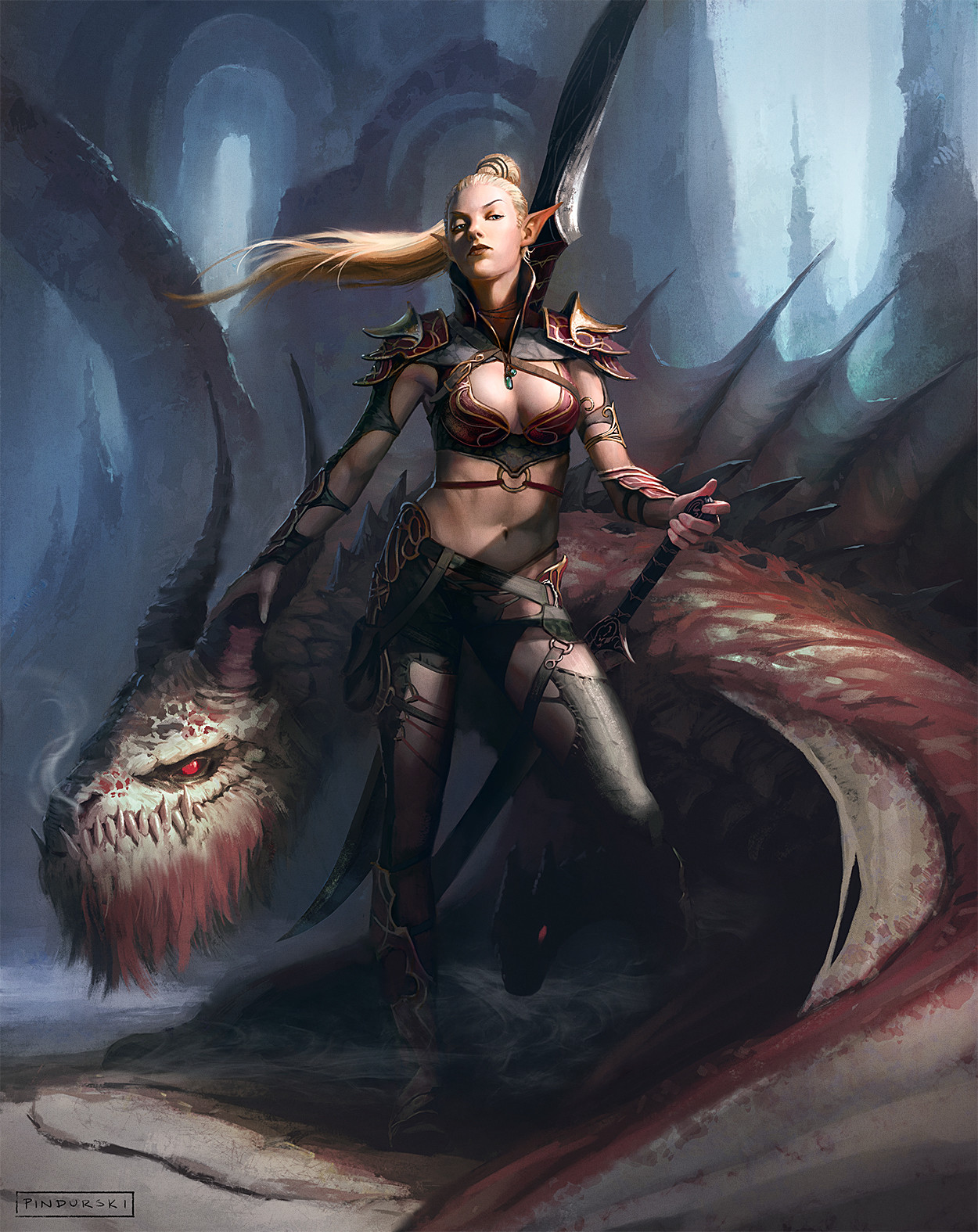 Hugh pindur pindurski elf dragon