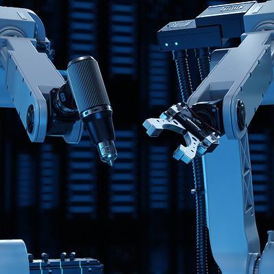 Anton podvalny robots 1 artstation