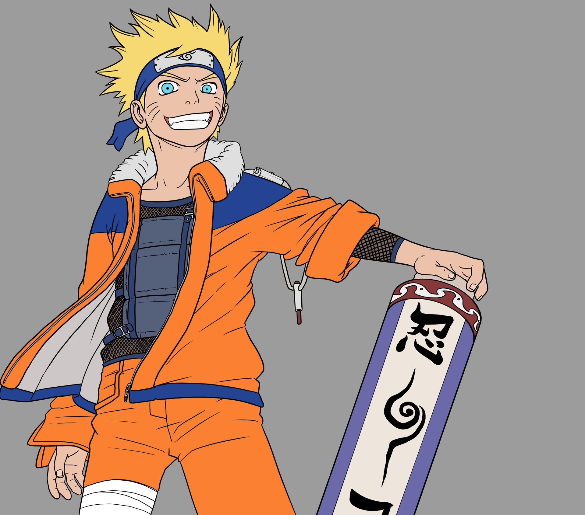 Elliot Gaudard - Naruto