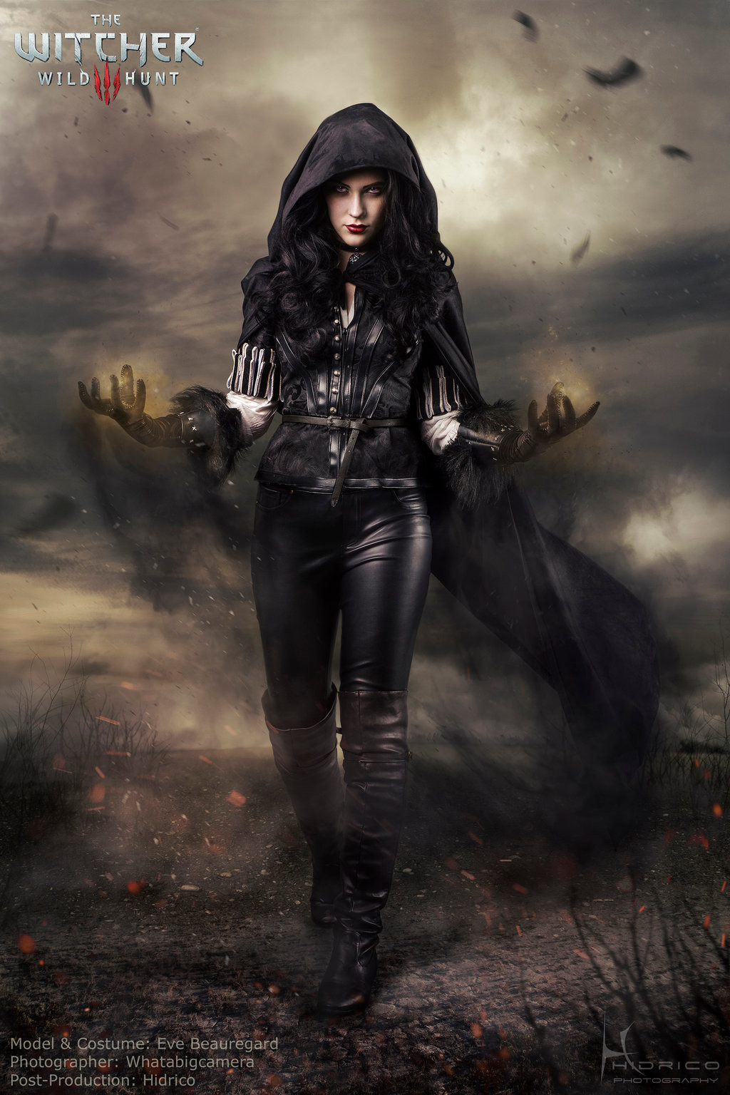 Hidrico rubens yennefer of vengerberg the witcher 3 by hidrico d7w2oue