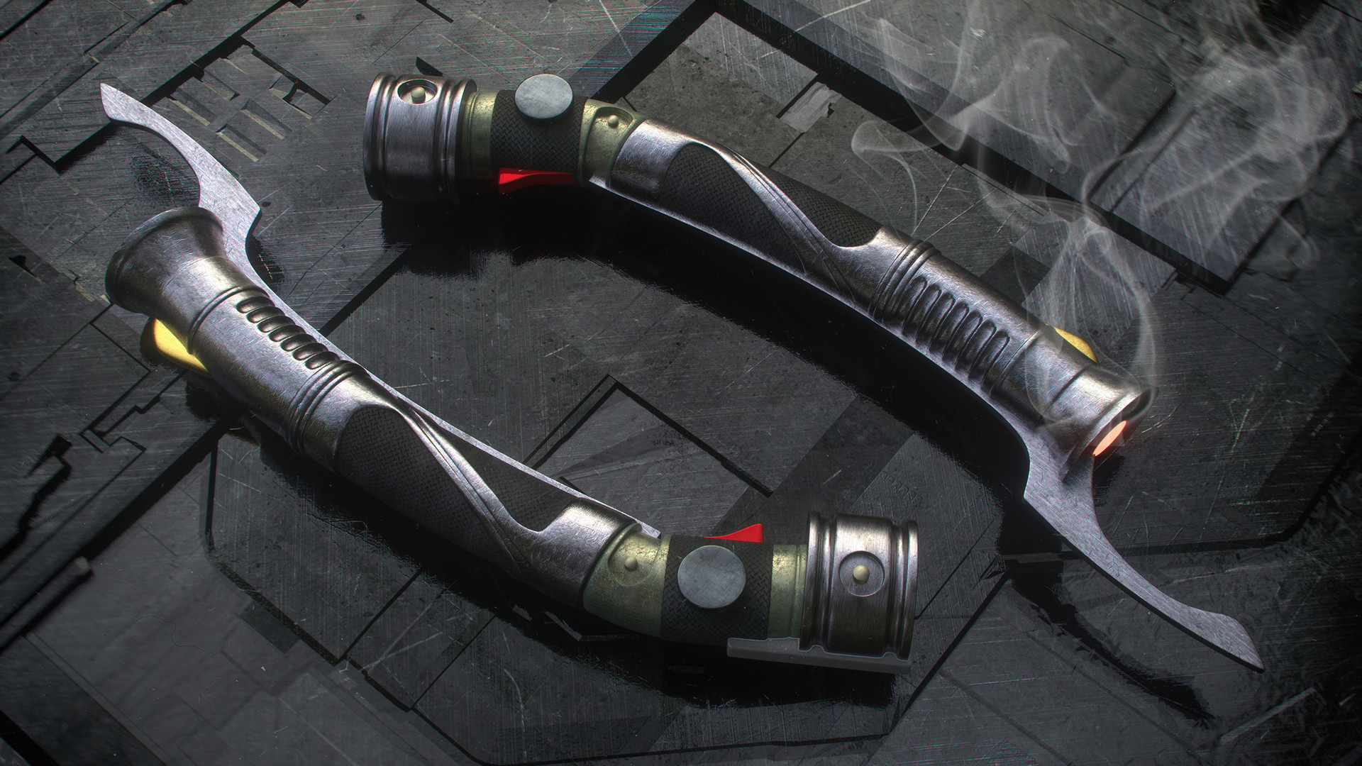 Kresimir jelusic 73 211215 dooku lightsaber render 2560
