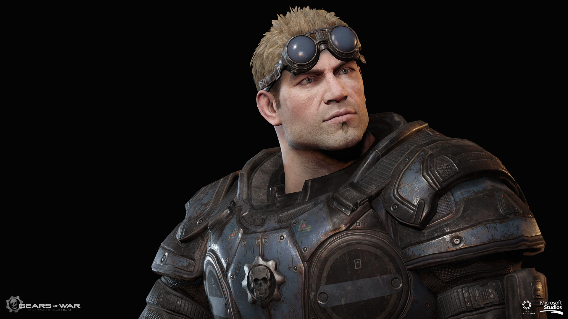 ArtStation - Gears of War Ultimate edition : Damon Baird