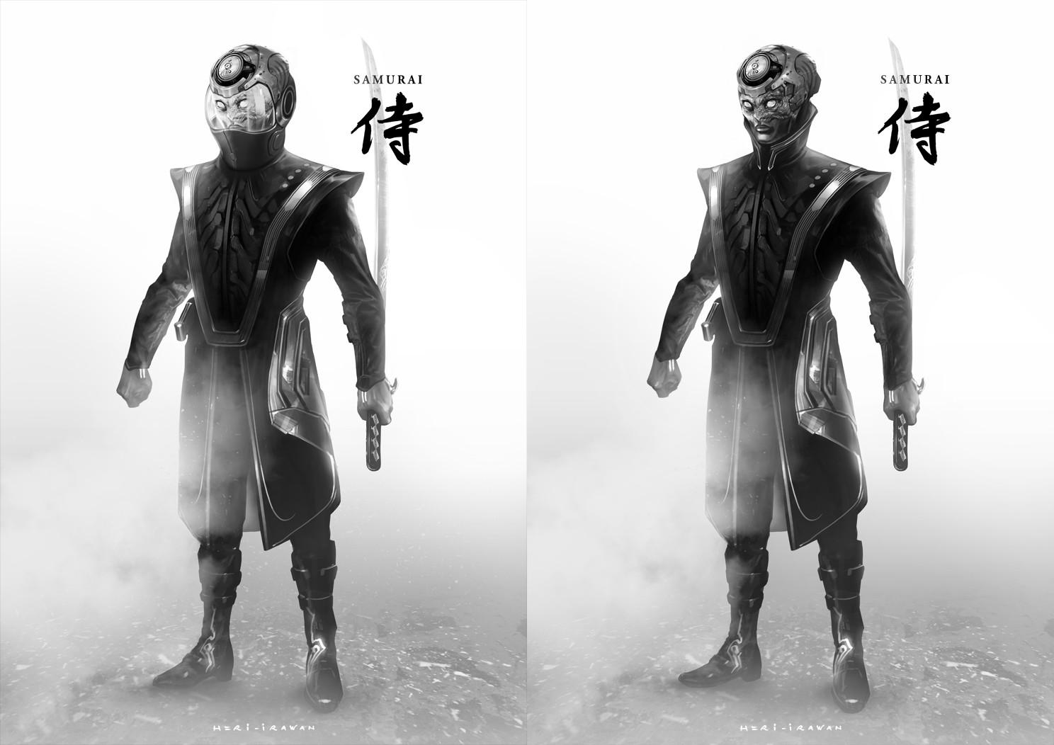Heri irawan samurai 02 bw