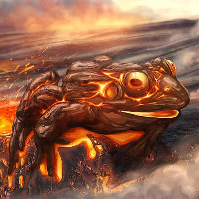 Gabriel cassata magma frog hires