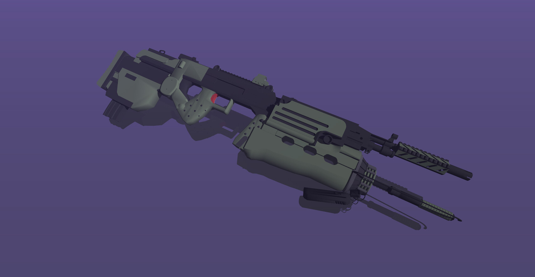 Cristian bruno heavy industries flame smg