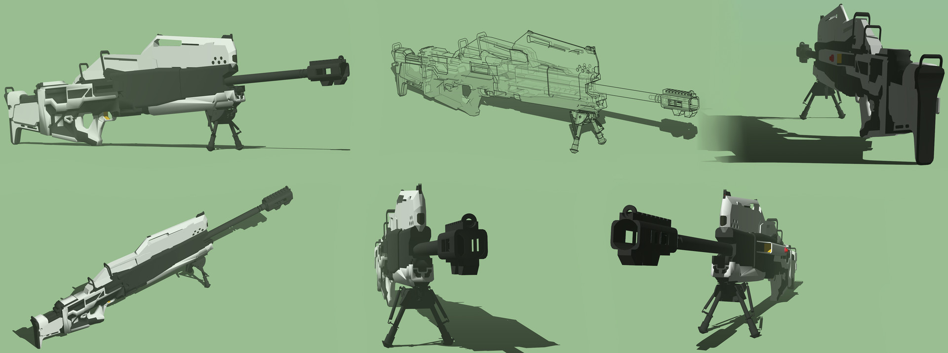 Cristian bruno lai type rail sniper