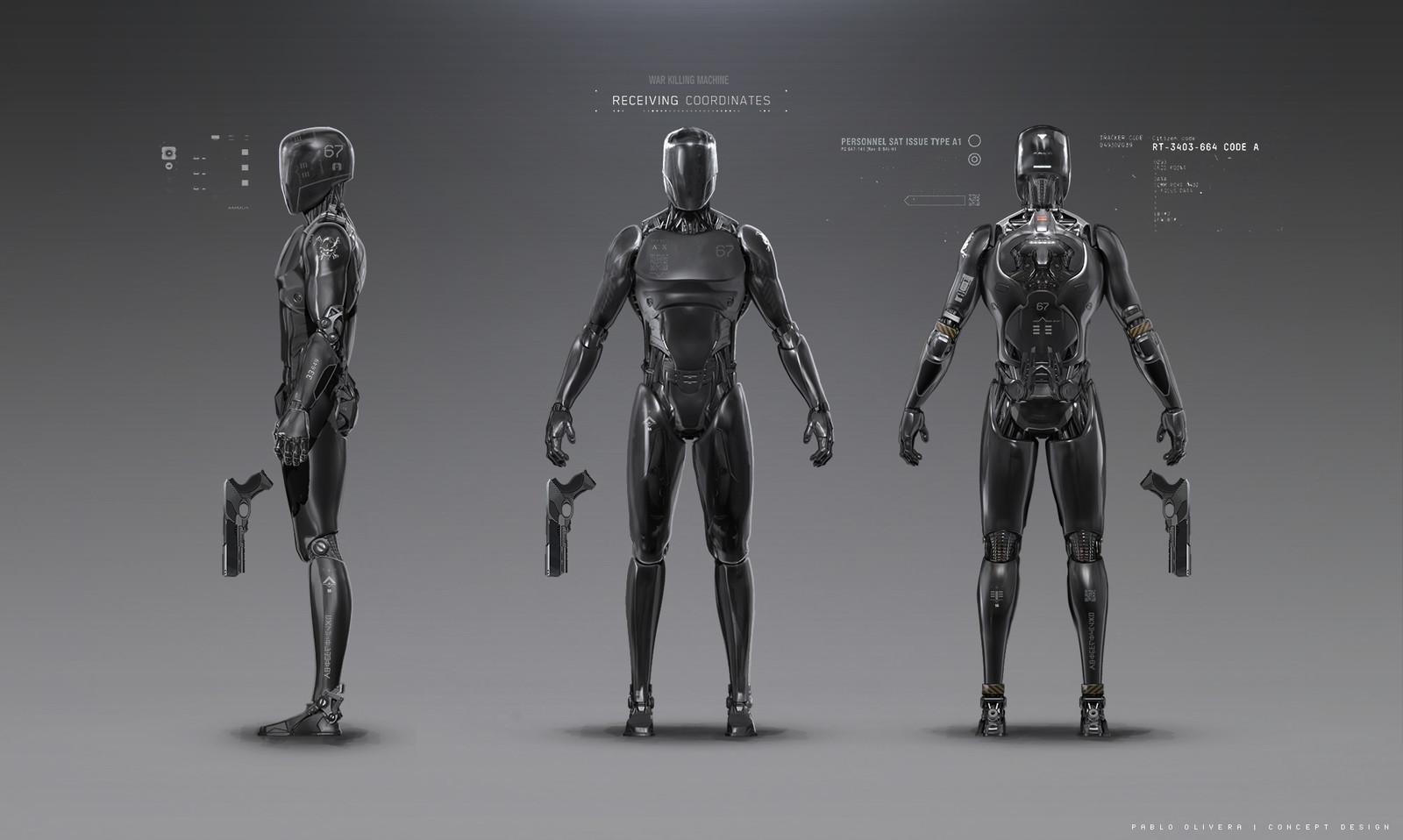 Robot Design for Uncanny Valley ( Sci-Fi short film )