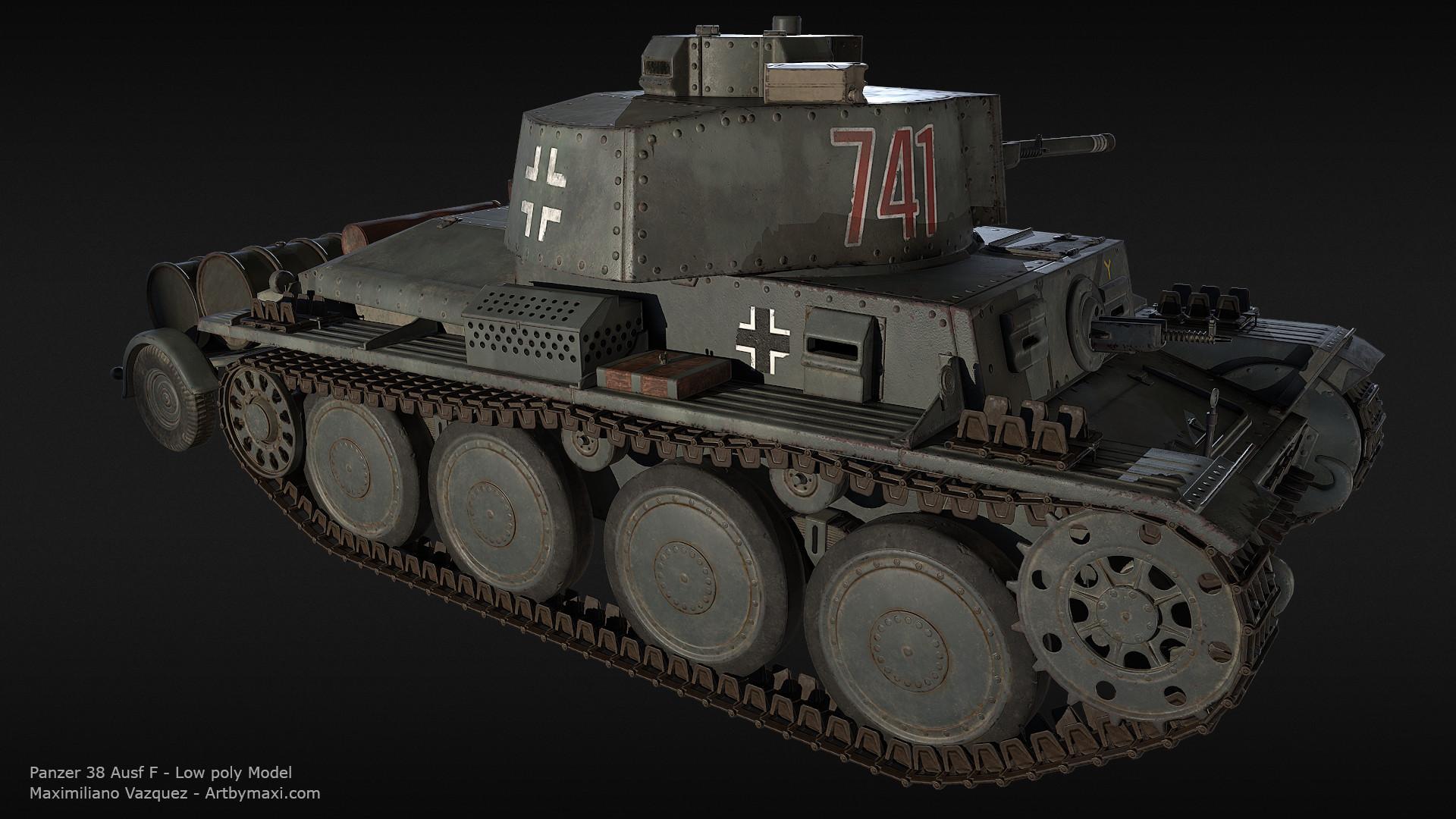 Maximiliano vazquez panzer38 lp