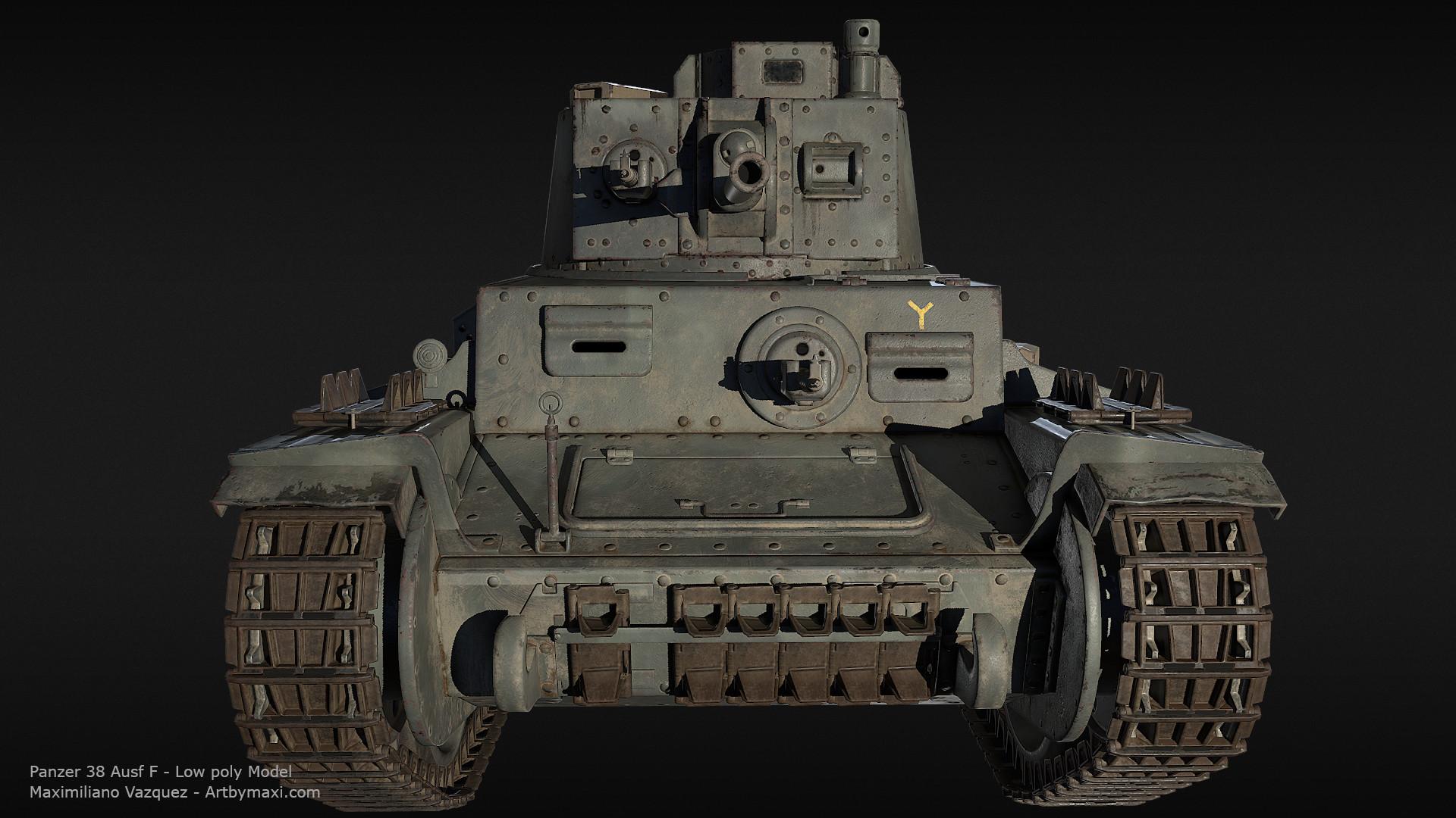 Maximiliano vazquez panzer38 lp3
