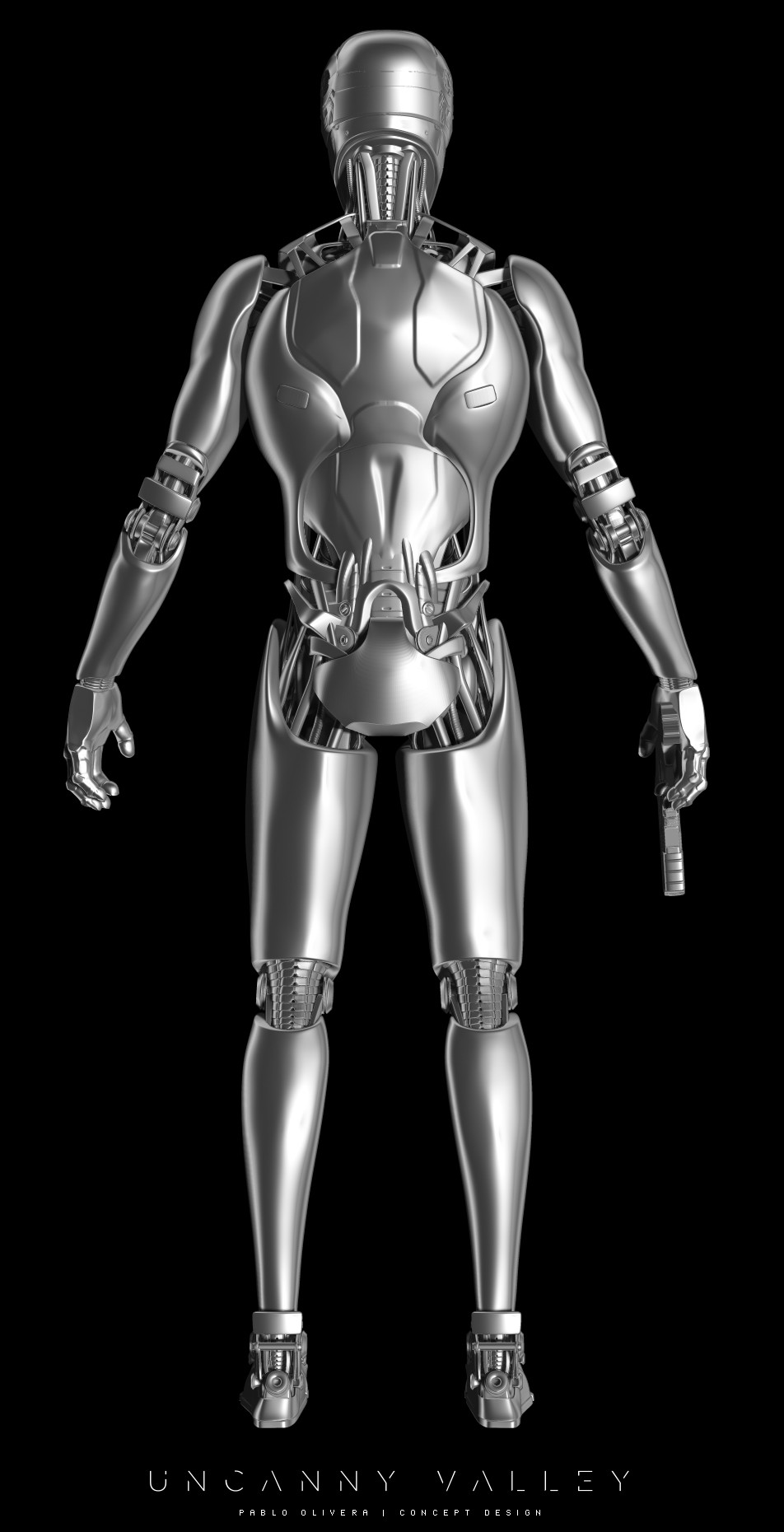 Pablo olivera uncanny valley character design robot 05