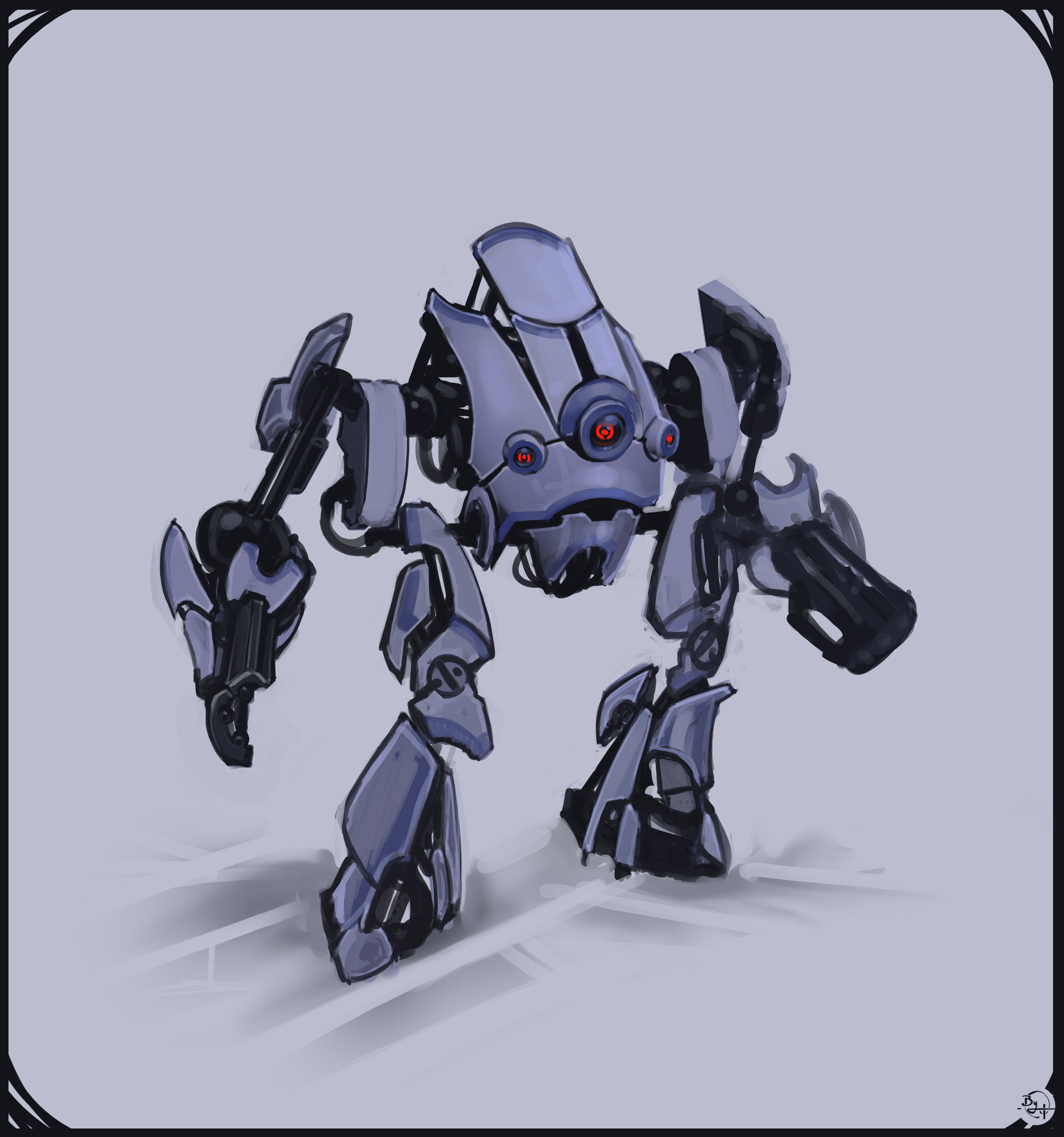 Etienne beschet conceptart badbot v6