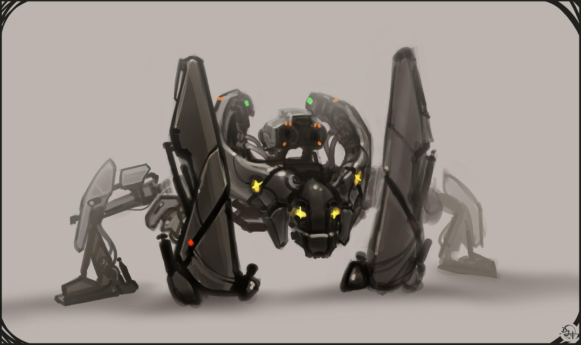 Etienne beschet conceptart badbot v4