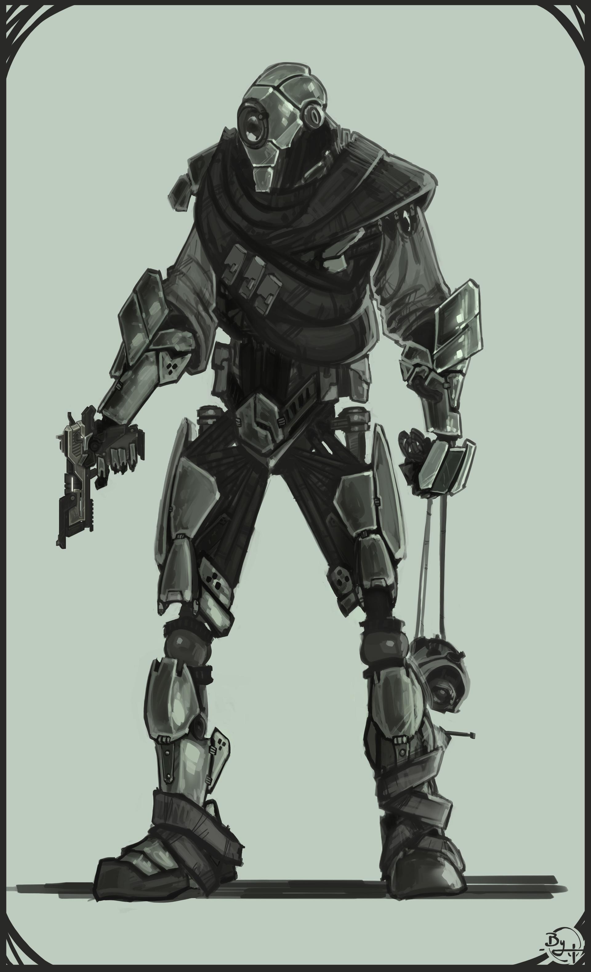 Etienne beschet conceptart warrior v2