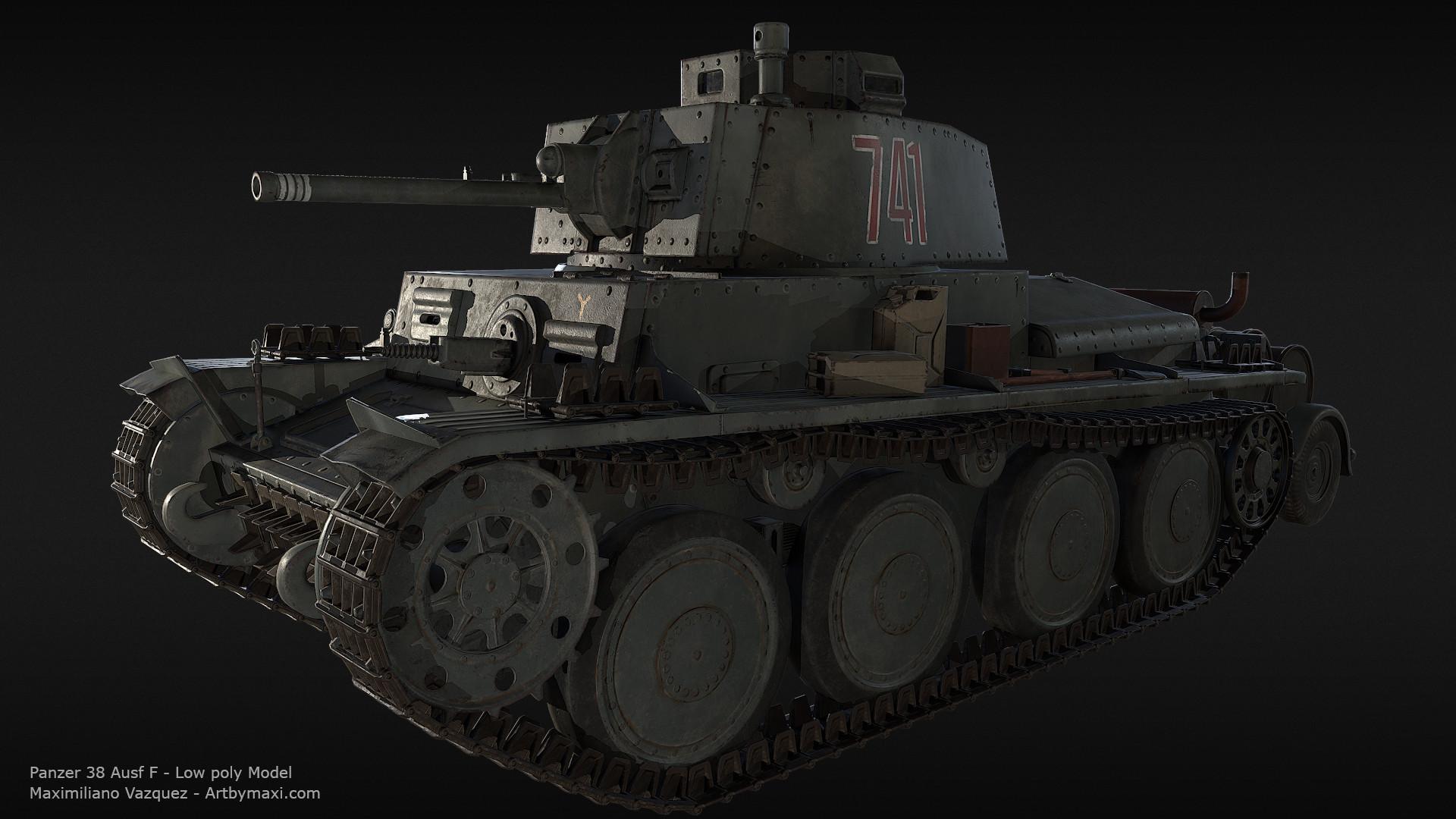 Maximiliano vazquez panzer38 lp10